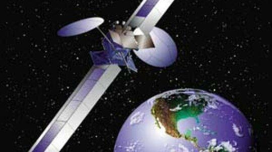 """卫星无线电如何工作""""border="""