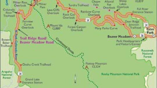Colorado Scenic Drive: Trail Ridge Road/Beaver Meadow Road