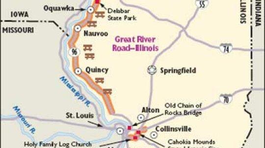 Illinois Scenic Drives: Great River Road