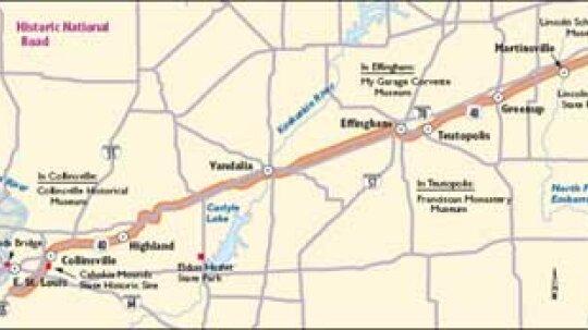 Illinois Scenic Drives: Historic National Road