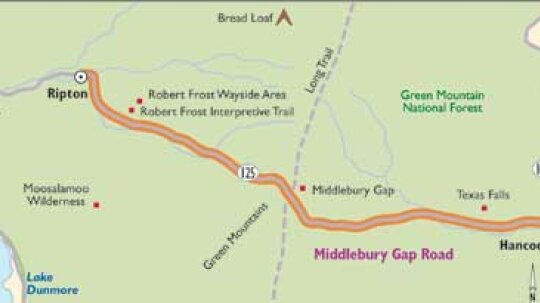 Vermont Scenic Drives: Middlebury Gap