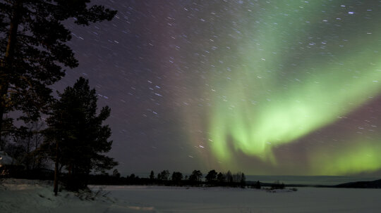 Why are the auroras seasonal?