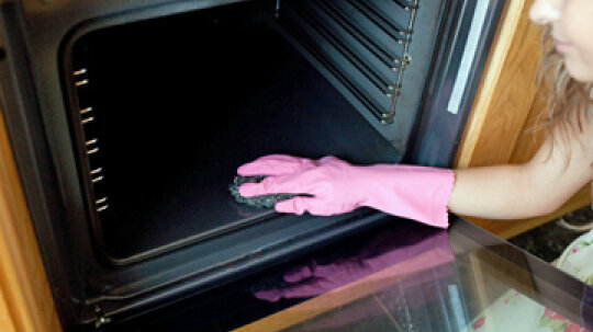 How to Remove Oven Cleaner Stains
