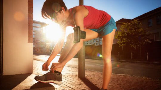 Can You Power Your Music Player With Your Running Shoes?