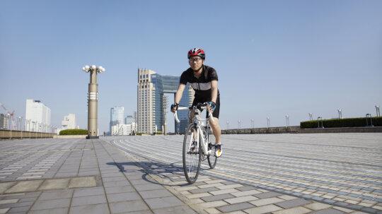 Is it safer to bike on the sidewalk?