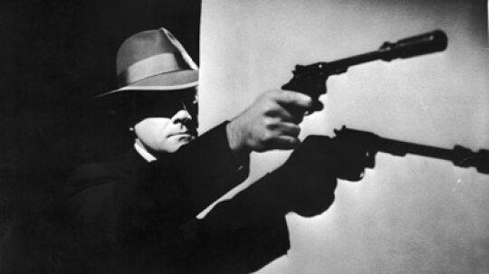 How does a gun silencer work?