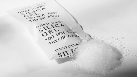 What is silica gel and why do I find little packets of it in everything I buy?