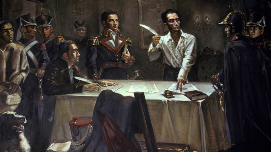 Against Crazy Odds, Simon Bolivar Liberated Six Countries in South America
