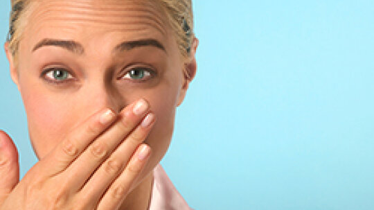 Is it bad to remove chapped skin from around your nose when you have a cold?