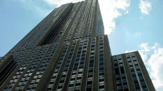 What was the first steel-framed skyscraper?