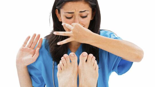 Why do feet stink?