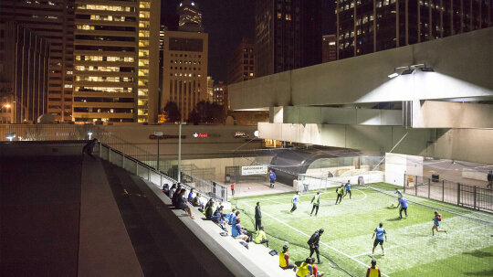 Soccer, Shopping, Dining: Mass Transit Stations Aren't Just for Travel Anymore