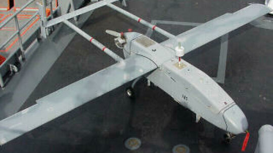 What is a remotely operated spy plane?