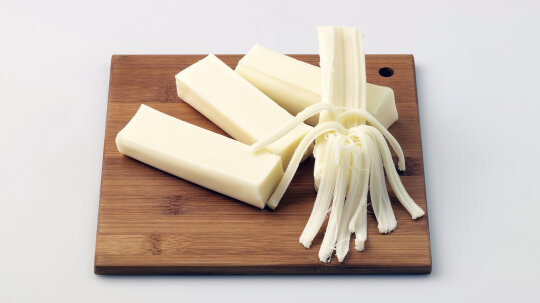 How Does String Cheese Get Stringy?