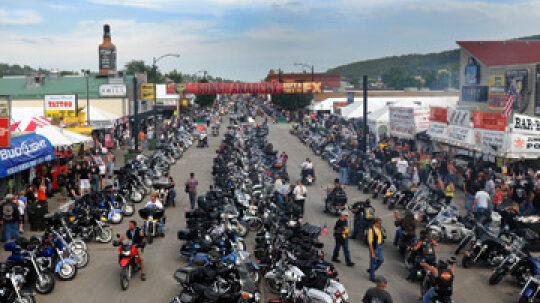 How the Sturgis Motorcycle Rally Works