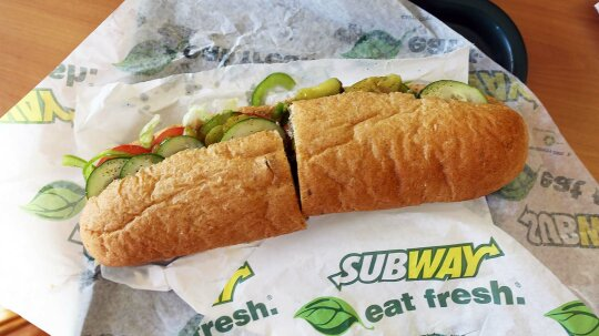 Irish Supreme Court Says Subway's Bread, Well, Isn't