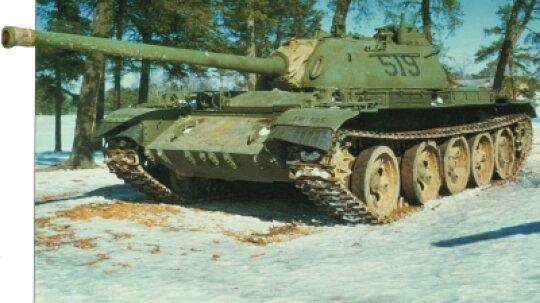 T-54/T-55 Main Battle Tank