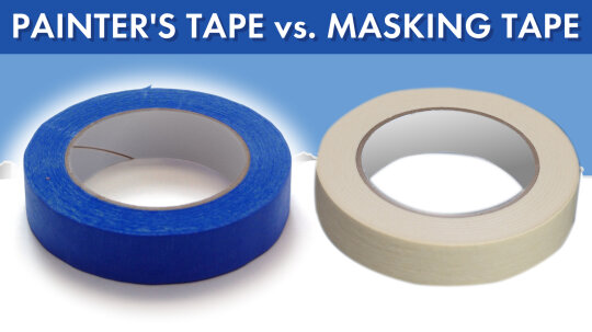 Painter's Tape vs. Masking Tape: What's the Difference?