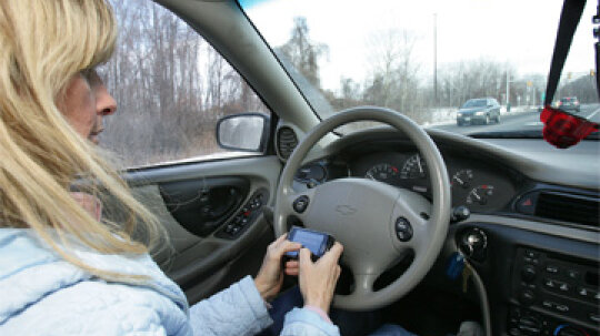 Is texting while driving really worse than drunk driving?