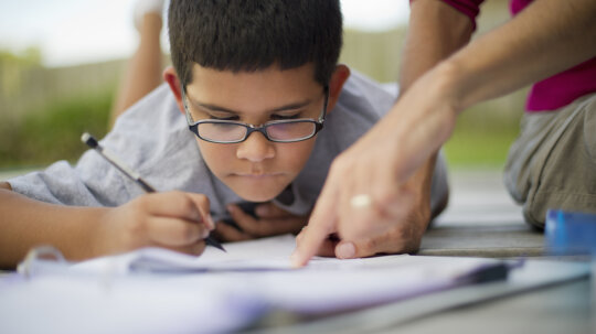 How much should you help with homework in third grade?