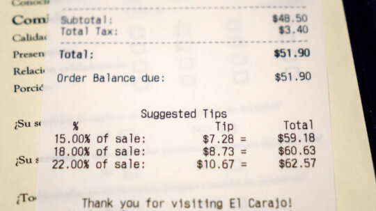 When Will We Reach the Tipping Point for Tipping?