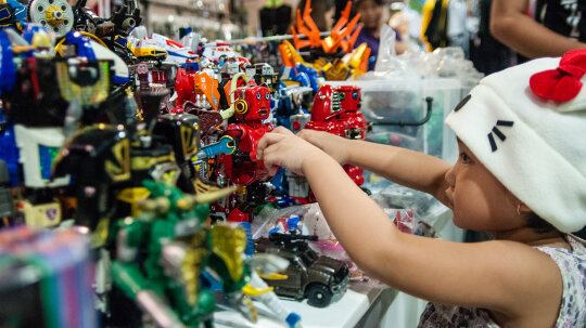 Can you predict which toys will become collectors' items?