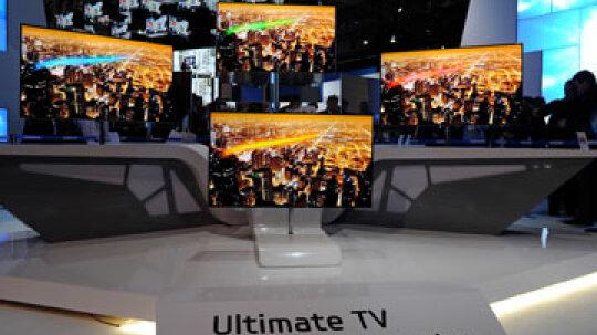 Can a TV be transparent?
