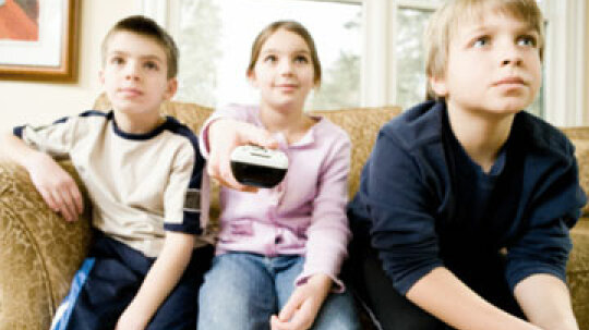 How does TV change kids' moods?
