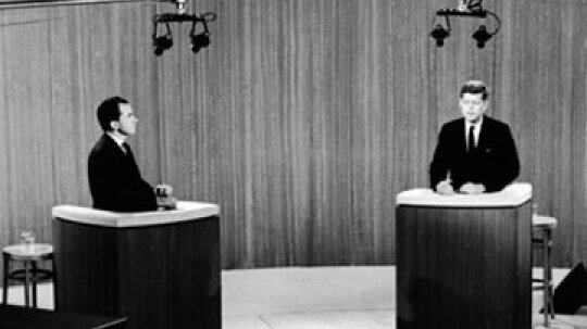 How did the advent of television impact politics?