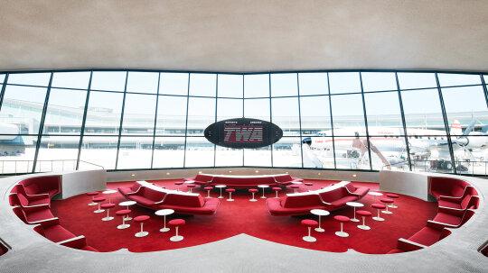 Landmark TWA Flight Center Now Stuns as Hotel