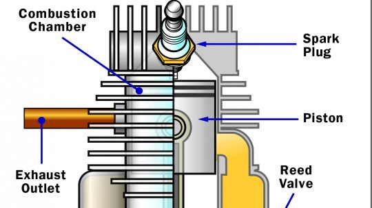 How Two-stroke Engines Work
