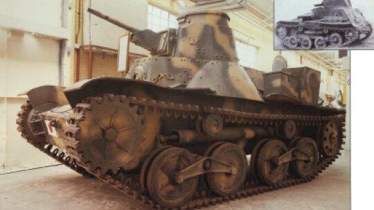 Type 95 KE-GO Light Tank