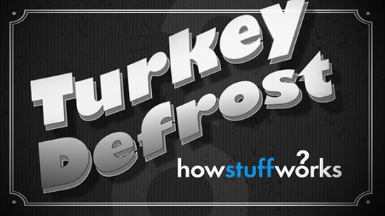 HowStuffWorks Illustrated: Forgot to Defrost Your Turkey?