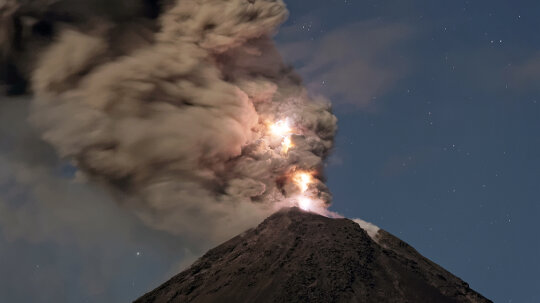 Scientists Record Volcanic Thunder for the First Time