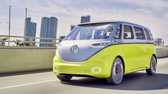 The VW Bus Is Back — Sort of