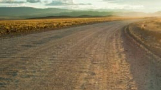 What causes washboard roads?