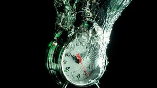 How Water-powered Clocks Work