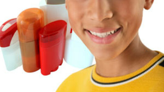When should kids start using deodorant?
