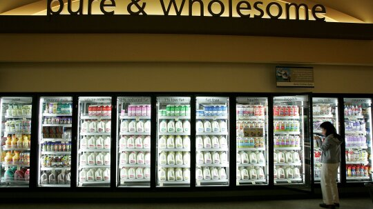 Does whole milk spoil faster than skim milk?