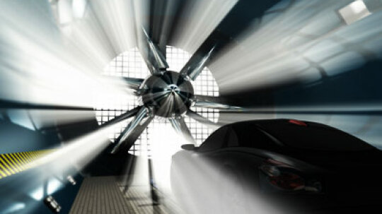 How do wind tunnels help stock car drivers?