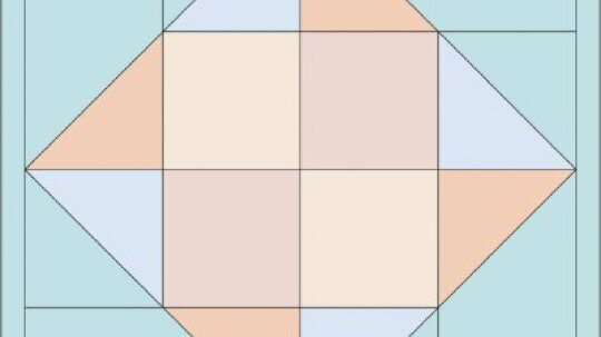 Windblown Puzzle Quilt Block