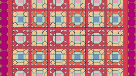 Window Pane Quilt Pattern