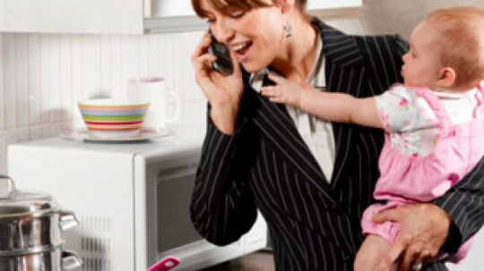 Are working mothers happier?