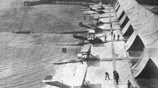 World War I Flight Timeline