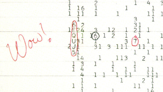 How the 'Wow!' Signal Works