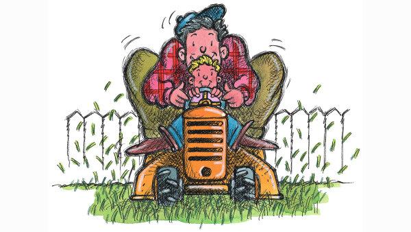 Meet the Lawnmower Parent