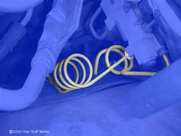 Why do brake lines have so many bends and loops?