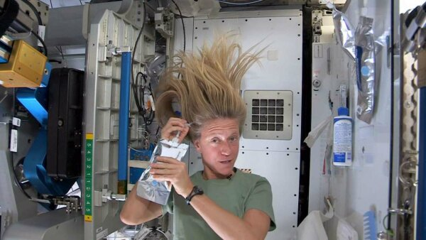 How Do Astronauts Shower in Space?