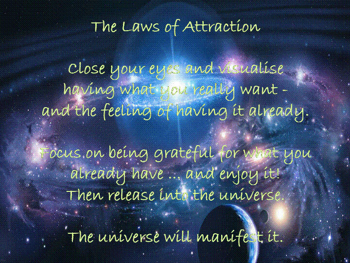 Law of Attraction page