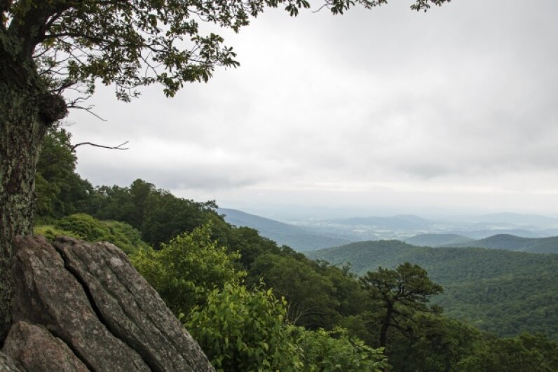 Here's one view you might take in on a drive through Virginia. sparhawk4242/iStock/Thinkstock
